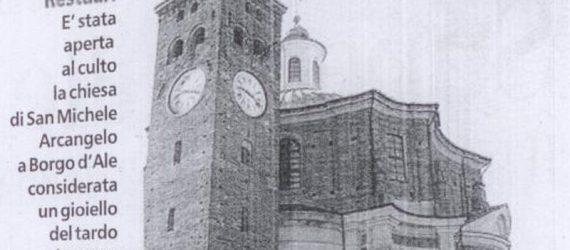 """Apertura della chiesa su """"La Stampa"""""""